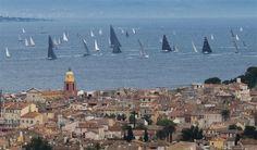 Giraglia Rolex Cup : Saint-Tropez et les navires au départ de l'épreuve