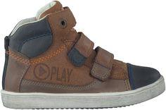 dikke Cognac Braqeez Sneakers 416807