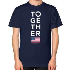 Together 2016 Unisex T-Shirt (on man)
