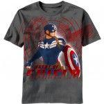 Camiseta de Capitán América: El Soldado de Invierno