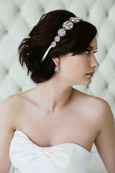 Sara Gabriel Hazel Wedding Hair Ribbon