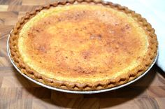 This is my mom's recipe for the BEST egg custard pie. A perfect dessert anytime of the year. Everyone in our family loves this pie!