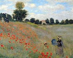 "Description of the painting by Claude Monet ""Maki"" (At Argenteuil)Description picture - Monet Claude Famous Paintings Monet, Beautiful Paintings, Famous Impressionist Paintings, Artist Monet, Impressionism Art, Art Graphique, Oeuvre D'art, Land Scape, Les Oeuvres"