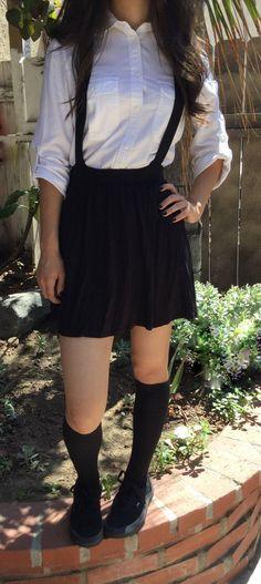 Cute students braces skirt Cute Kawaii Harajuku Fashion Clothing - clothing sponsorship