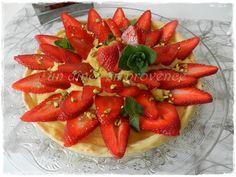 Tarte aux fraises & crème à la vanille