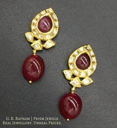 Uncut Diamond, Natural Ruby, Gold Price, Pendant Set, Diamond Shapes, 18k Gold, Jewelry Design, Jewellery, Pearls