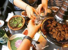 新村の学生たちに大人気!! 10000ウォンでカルビ食べ放題の【통큰갈비(トンクンカルビ)】って!?