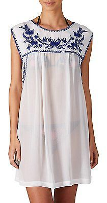 10 (Manufacturer Size:Medium), White, Little White Lies London Women's Macy Slee