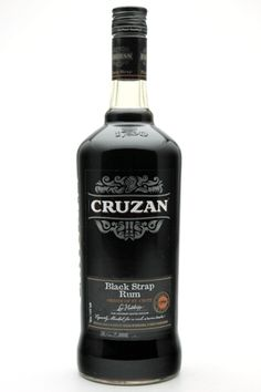 Cruzan Black Strap Rum Cruzan Black Strap Rum is aged for two years in whiskey and bourbon barrels, gaining robust flavors and aromas of molasses, chocolate, anise, and brown sugar. This is a warming, wintry, hearty spirit great for making tropical cocktails. This is a favourite of mixologists and is a versatile cocktail ingredient. 750 ML • PROOF: 80 • ABV: 40%