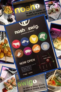 Nosh and Swig ~ Tapas Las Vegas
