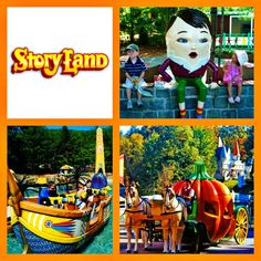 Story Land is a fun family amusement park located in Glen, New Hampshire (just north of North Conway!).  They have been providing families loads of fun for 60 years!  #StorylandSummer #WhereFantasyLives