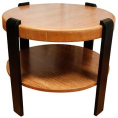 1stdibs.com | French Art Deco Two-Tier Table