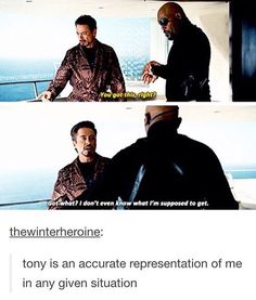 I never fail to relate to ironman, EVER