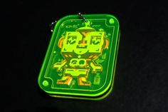 3 layer acrylic keychain puzzle toy by Junichi Tsuneoka ©