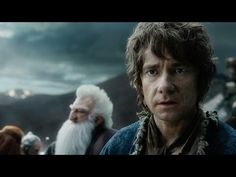 Martin Freeman is Bilbo Baggins in Peter Jackson's The Hobbit: The Battle of the Five Armies. The trilogy finale reigned supreme at the box office over the holidays. Jrr Tolkien, The Hobbit Movies, O Hobbit, Hobbit Hole, New Trailers, Movie Trailers, Kino Box, Christopher Lee, Make My Day