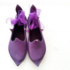 UK 4, PRICKLE Shoes #2987 - FAIRYSTEPS handmade shoes
