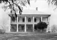 Chretien Point Plantation is a pre-Civil War twelve room red brick mansion, located on twenty acres on the banks of Bayou Bourbeaux, two miles southwest of Sunset, Louisiana in St. Landry Parish.  Opened: 1835