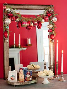 Easy Christmas decor - home decor,Decoration