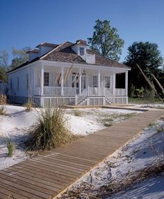 beach cottage style A renovated French Creole cottage offers the best of old and new on Floridas Apalachicola River.