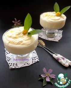 Десерт «Лимонный поссет»