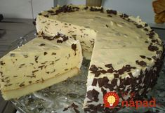 Stracciatella torta by Senchy – Recepti za sve Torte Recepti, Kolaci I Torte, Sweet Recipes, Cake Recipes, Dessert Recipes, Posne Torte, Torte Cake, Czech Recipes, Different Cakes