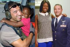 After searching for 10 years, Mike Maroney was finally reunited with LeShay Brown, the 3-year-old he rescued during Hurricane Katrina.