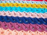 picture crocheted broomstick lace stitch