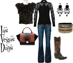 """Las Vegas Days"" by westernglamour on Polyvore"