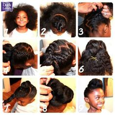 Healthy Hair Journey added a new photo — with Sophy Del. Natural Hair Journey, Natural Hair Care, Natural Hair Styles, Natural Beauty, Natural Hairstyles For Kids, Little Girl Hairstyles, Cute Hairstyles, Black Hairstyles, Relaxed Hairstyles