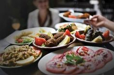 Greek and Arabic food are very similar.