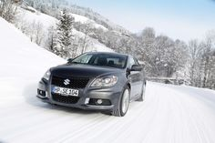 Suzuki promo shot of 4x4 Kizashi in Germany 2011