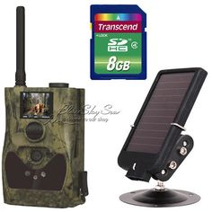"""(273.20$)  Buy here - http://aihr5.worlditems.win/all/product.php?id=32696959997 - """"ScoutGuard SG880MK-12MHD 720P 1.5"""""""" LCD Trail Hunting Game Camera+Solar Battery"""""""