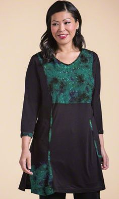 Plus Size Tops - GREENWICH TUNIC - Plus and Super Plus Size Clothes for Women