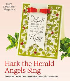 Hark the Herald Angels Sing from the Winter 2014 issue of CardMaker Magazine. Order a digital copy here: http://www.anniescatalog.com/detail.html?code=AM5255