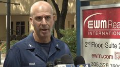 US Coast Guard Capt. Mark Fedor updates the press on the missing freight ship El Faro that disappeared near Crooked Island, Bahamas, during Hurrican Joaquin.