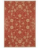 RugStudio presents Capel Elsinore-Garden Maze 43686 Poppy Machine Woven, Good Quality Area Rug