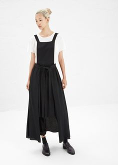 Maison Martin Margiela - Apron Jumper in Black