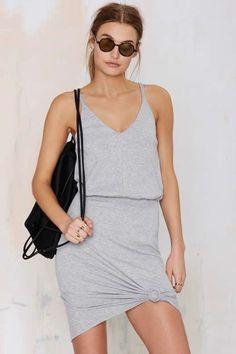 Jory Ribbed Dress