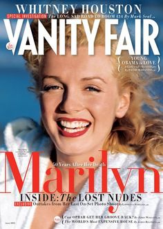 Marilyn Monroe in Vanity Fair