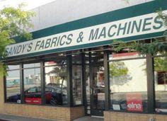 Sandy's Fabrics and Machines Retail store in Kennewick, WA