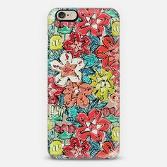 LOMASI flowers transparent @Casetify #casetify #phone #case #iPhone #android #itransparent #clear #floral #native #american #inspired #tribal #botanical #red #coral #blue #green #spring ~ get $10 off using code: 5A7DC3