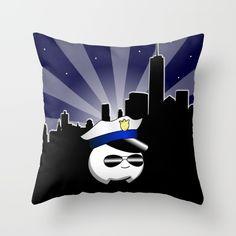 Cop Cumi Throw Pillow by goatgames Goat Games, Indie Games, Goats, Throw Pillows, Toss Pillows, Cushions, Decorative Pillows, Decor Pillows, Scatter Cushions