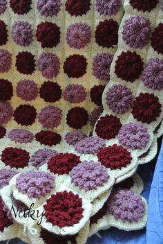 https://flic.kr/p/fDJpxx | crochet blanket ♡