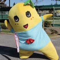 Jiggly yellow pear Funasshi named top mascot in Japan ‹ Japan Today: Japan News and Discussion