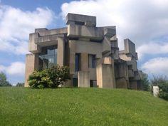 Cubist Brutalism: Wotruba Church, Vienna