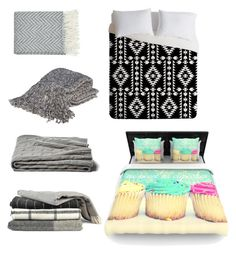 """""""Cute Bedding #2"""" by animallover-ii on Polyvore featuring interior, interiors, interior design, home, home decor, interior decorating, Bedford Cottage, a&R and DENY Designs"""