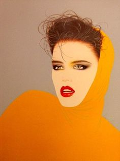 Manuel Nunez Pioneer Illustration 1986 #80s #fashion #art: