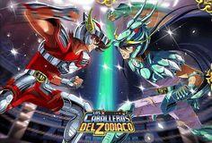 Torneo Galáctico Seiya vs Shiryu (Pegaso Vs Dragón)