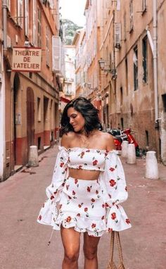 - outfits verano mujer - ropa para verano Source by clothes Cute Summer Outfits, Cute Casual Outfits, Pretty Outfits, Spring Outfits, Floral Outfits, Outfit Summer, Dress Summer, Summer Clothes, Mode Outfits