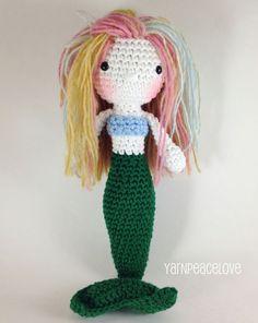 Crochet Mermaid Doll-Soft and beautiful Etsy  https://www.etsy.com/shop/YarnPeaceLove